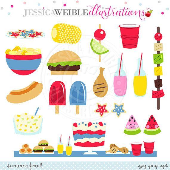 Hamburger clipart birthday bbq Watermelon Graphics ClipArt Party best