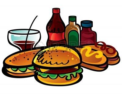 Hot Dog clipart cookout food And hot hamburger Clipart art