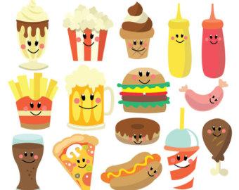 Hamburger clipart food item Personal Download Use Vector Hamburger
