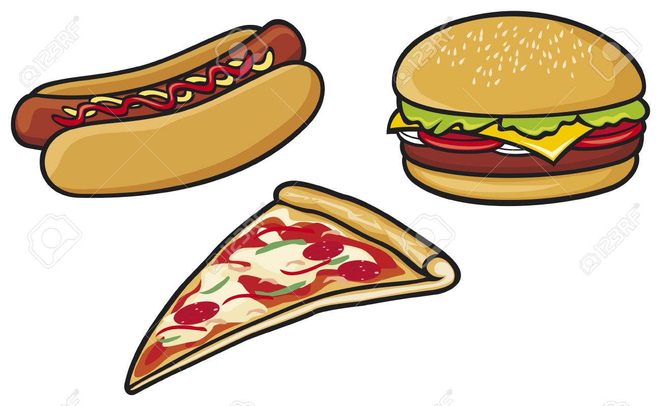 Pizza clipart hot food Clipart Fast collection Dog Hot