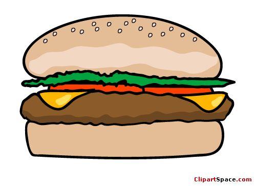 Veggie Burger clipart school food Art on Best fast Pinterest