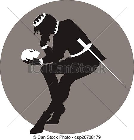 Hamlet clipart Yorick and the A cartoon