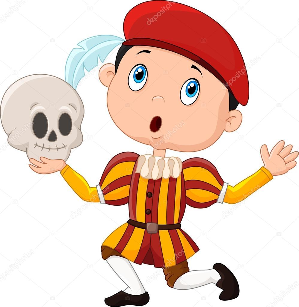 Hamlet clipart Hamlet Stock boy a —
