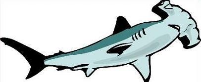 Hammerhead clipart Savoronmorehead Shark Clipart Shark Free