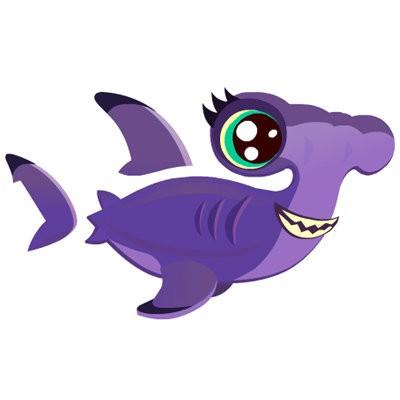 Hammerhead clipart aquarium Happy tanks AOL shark Aquarium