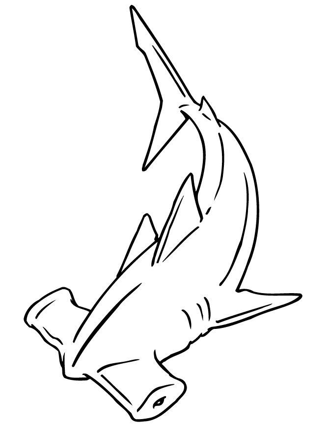 Hammerhead clipart black and white 20+ Pinterest shark Hammerhead on