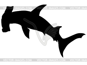 Hammerhead clipart black and white White And Hammerhead Hammerhead Black