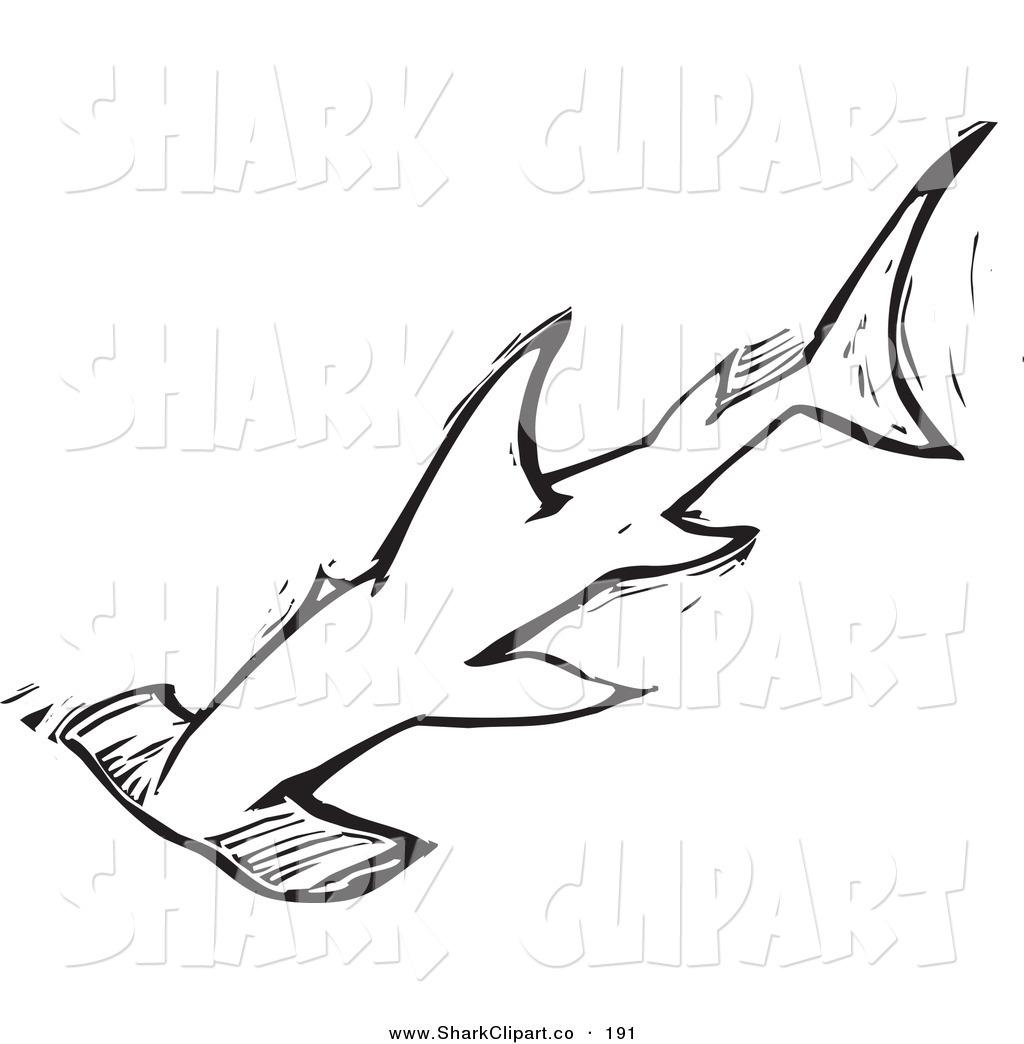 Hammerhead clipart black and white Home: Shark Hammerhead Design Art