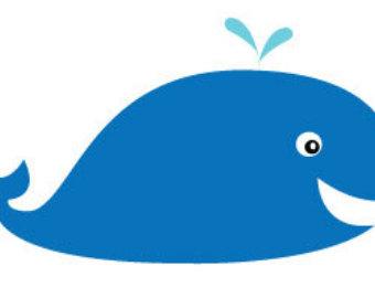 Hammerhead clipart cute Whale/ Clip Art/ drawing Cute