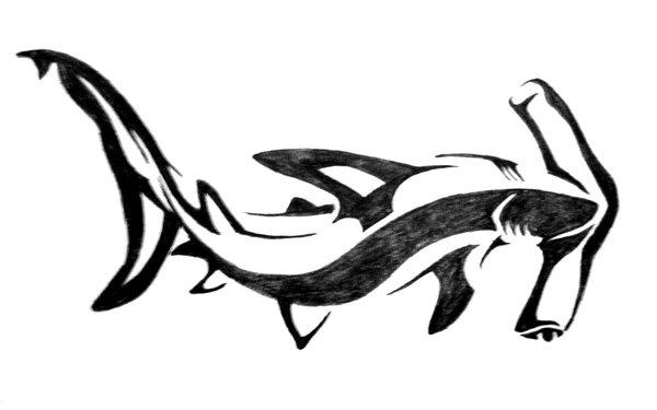 Hammerhead clipart great white shark Explore tattoo aingealdorcha Hammerhead on