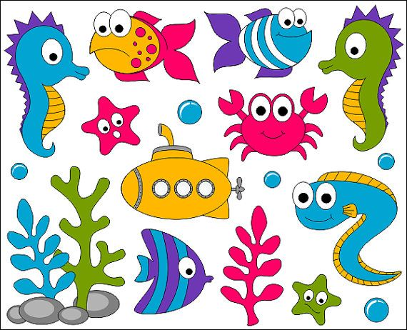 The Sea clipart under sea YarkoDesign Under images best crafts
