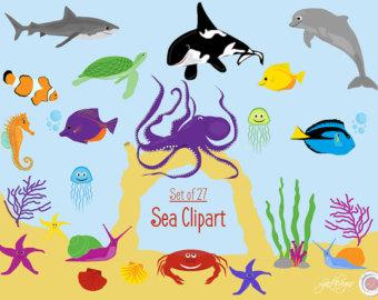 Hammerhead clipart ocean fish Shark Clipart Clipart Scrapbooking Clipart