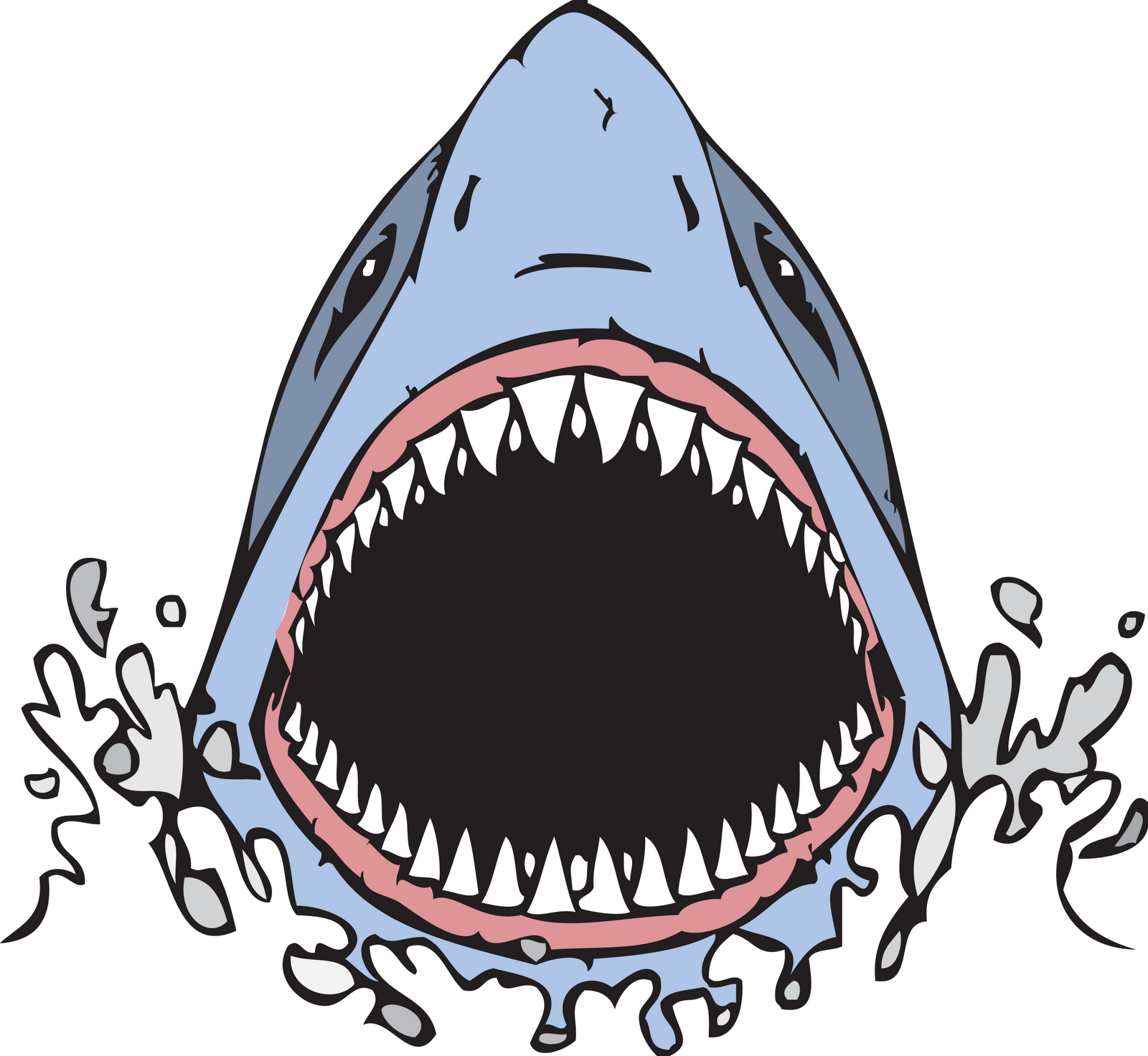 Hammerhead clipart open shark mouth Mouth shark 10:39 jaws Kid