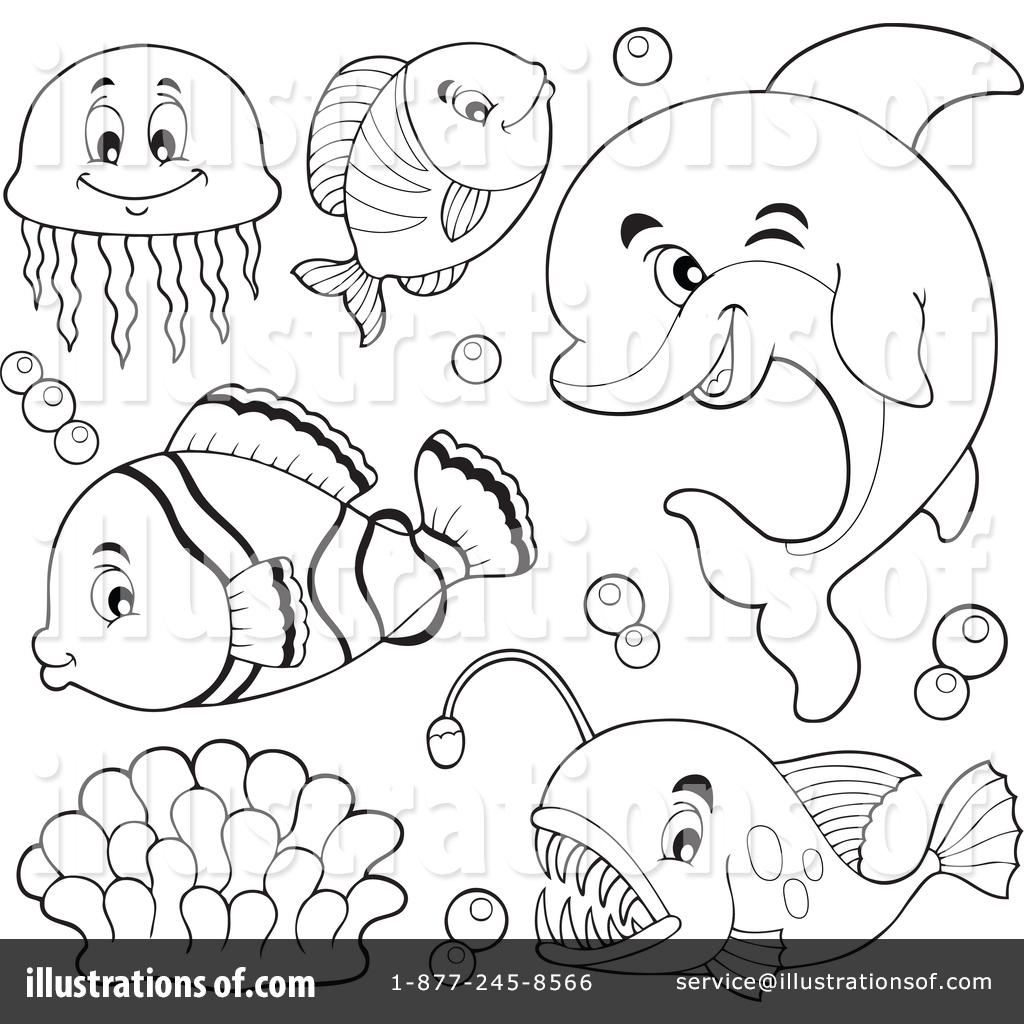 Hammerhead clipart sea life Royalty by Illustration visekart Life