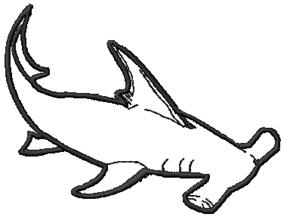 Hammerhead clipart shark outline Clipart Clipart Hammerhead Free Panda