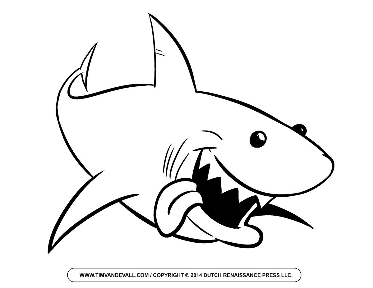 Hammerhead clipart shark outline Art Clipart Tree clip silhouette
