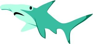 Hammerhead clipart cartoon Clipart Shark Clipart Shark Image