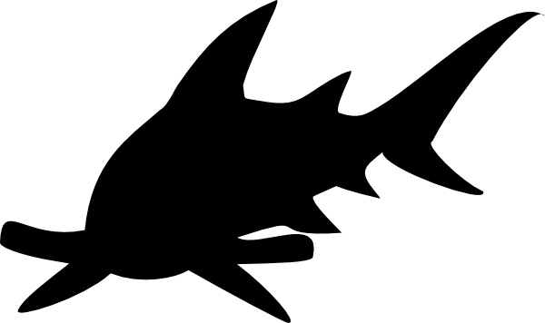 Hammerhead Shark clipart Shark Free art clip drawing