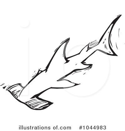 Hammerhead Shark clipart Free xunantunich by Hammerhead (RF)