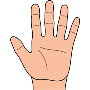 Gods clipart hand palm Clip Hand Person of Best