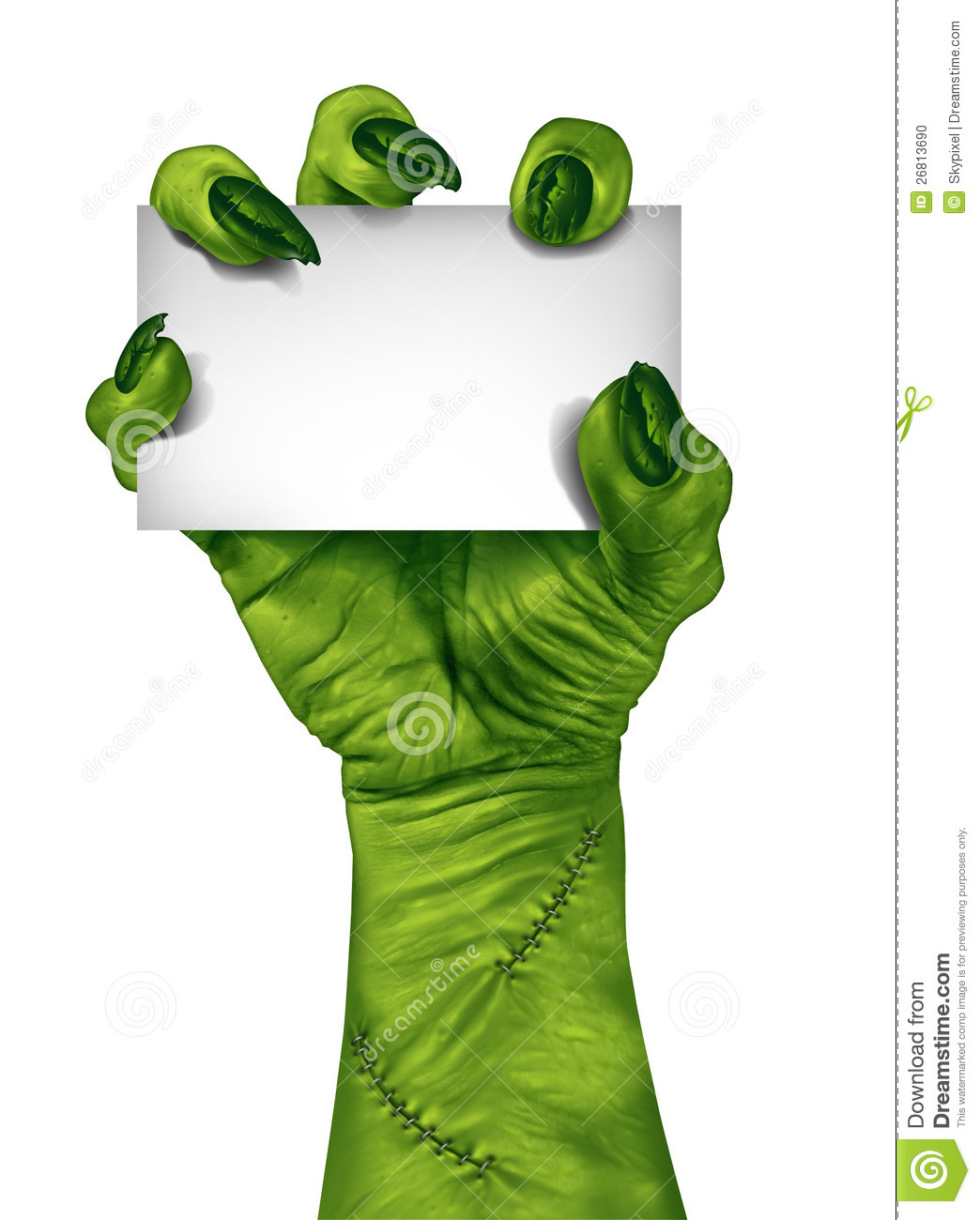 Zombie clipart cartoon character Zombie Hand Hand Download Clipart