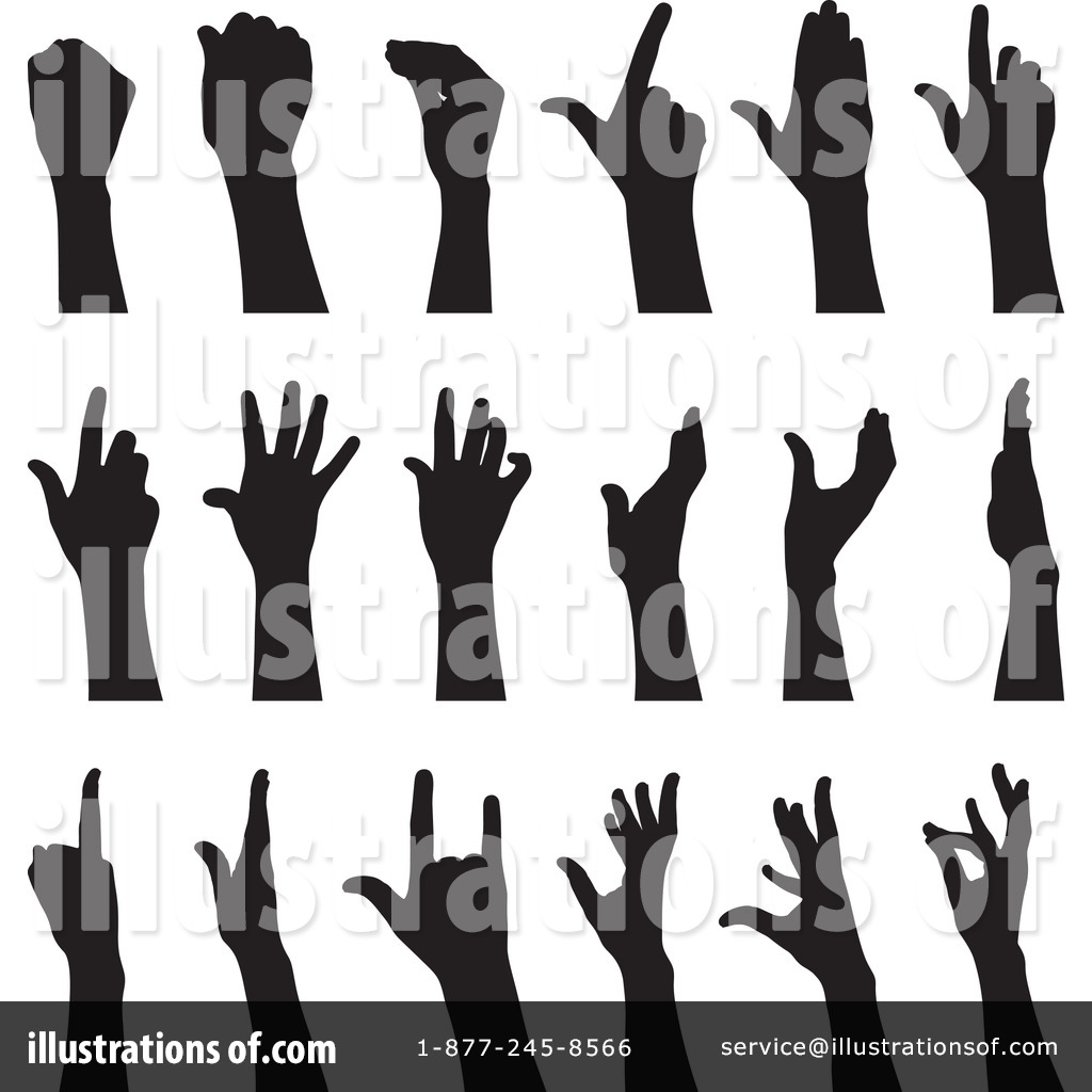 Hand Gesture clipart Royalty Free #231962 #231962 Illustration