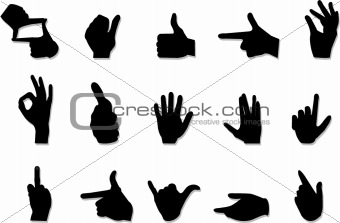 Hand Gesture clipart positive Art gesture Photos clip art