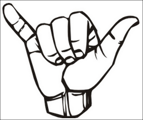 Drawn peace sign two finger Clipart Clipart Gestures 101 Gestures