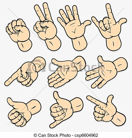 Hand Gesture clipart Hand gestures Collection Clipart clipart
