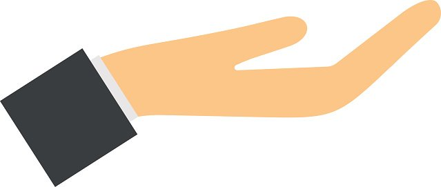 Hand Gesture clipart business communication #2