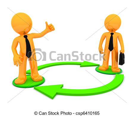 Hand Gesture clipart business communication #3