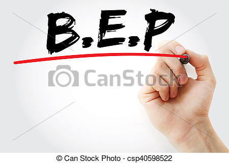 Hand Gesture clipart business writing Stock writing  Break Even