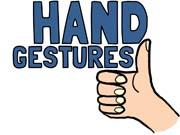 Hand Gesture clipart different Challenge Gallery Idea Hand WordMasters