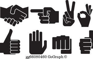 Hand Gesture clipart drawn Okay collection Art Human okay