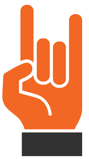 Hand Gesture clipart explanation Mean? Hand Does  Horn