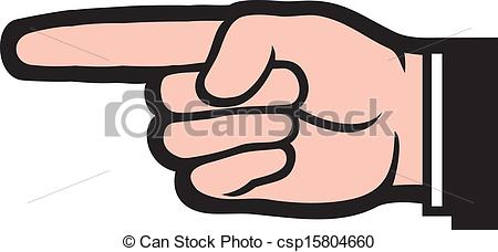 Hand Gesture clipart finger pointing Hand  finger) of (point