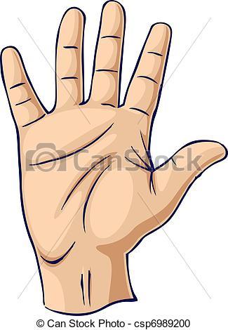 Hand Gesture clipart gesture drawing Of in  gesture open