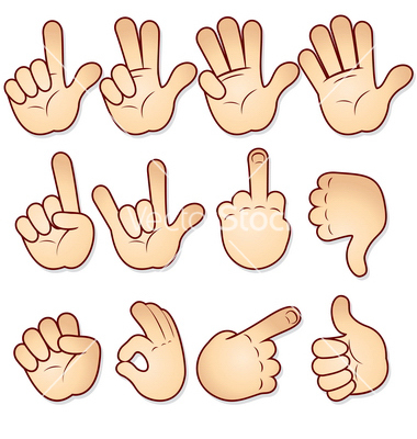 Hand Gesture clipart hand sign Hand Signs Clipart Signs Clipart