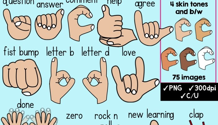 Hand Gesture clipart hand sign Classroom Hand Clipart Signals Hand