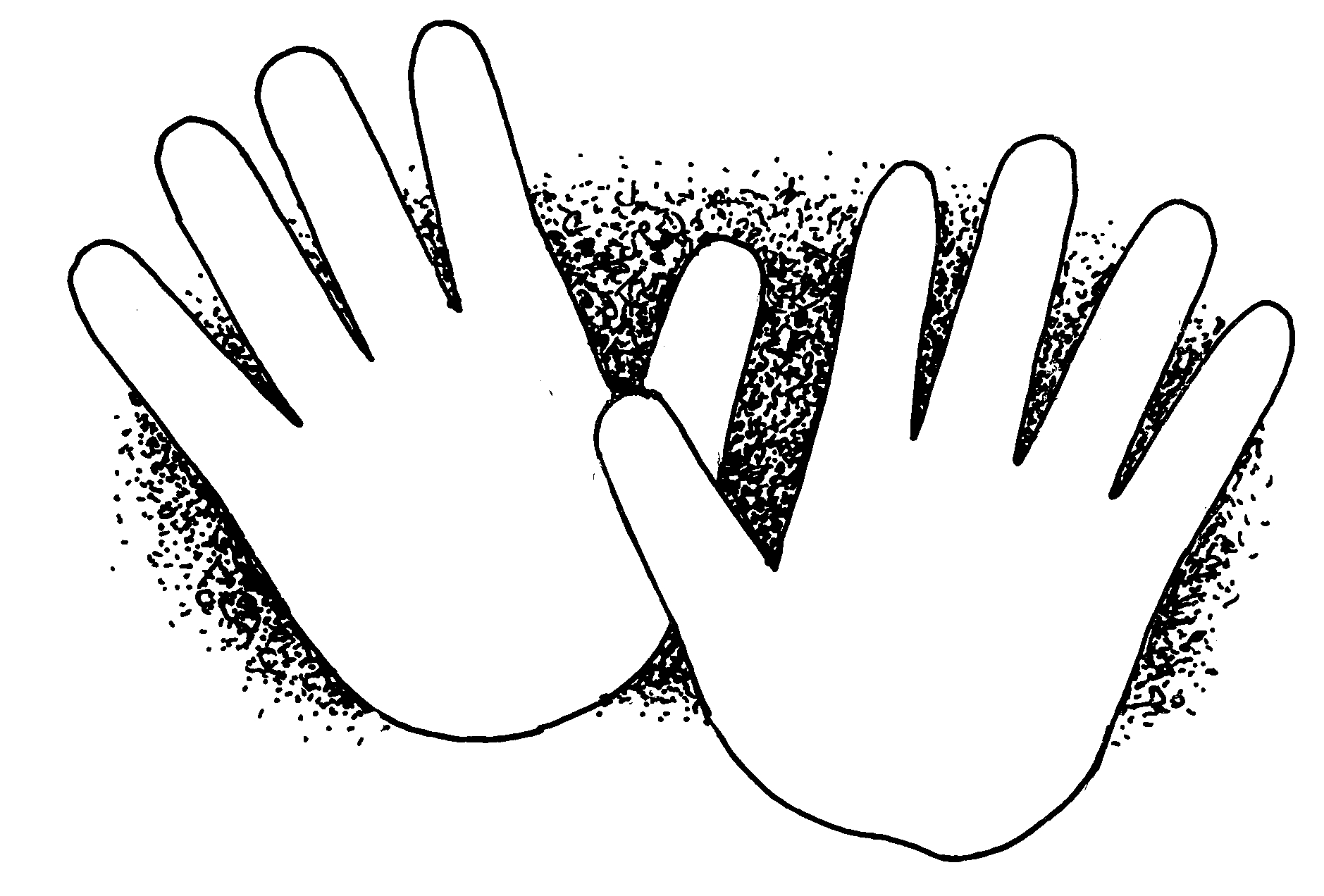 Handprint clipart helping hand Hands helping hand com Hands