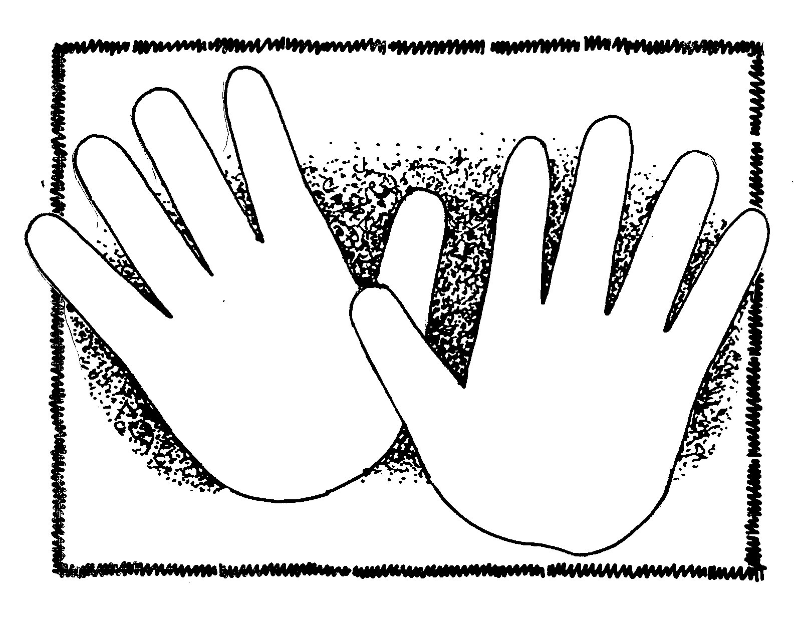 Hand Gesture clipart handout Clip Free Clipart Hand Hand