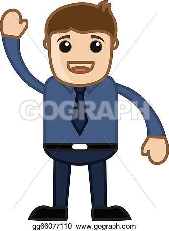 Hand Gesture clipart hello Clipart illustration hello vector Vector