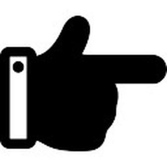 Hand Gesture clipart left Gestures free SVG files +900