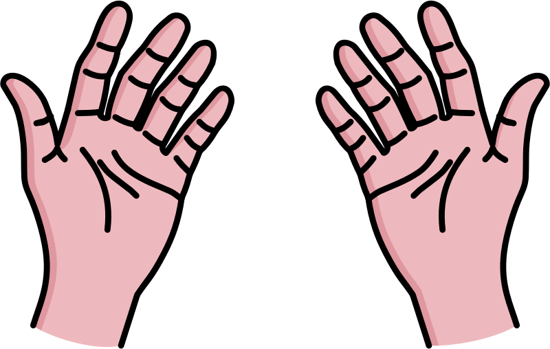 Hand Gesture clipart left Hand 101 Clip – Clipart