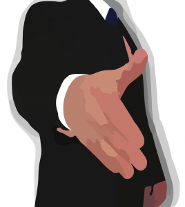 Hand Gesture clipart little bit MBTI and job a is