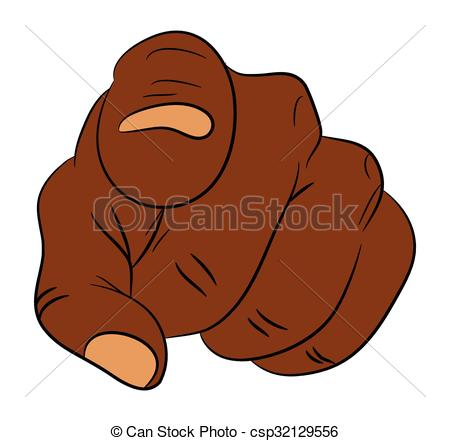 Hand Gesture clipart man pointing Pointing human at of of