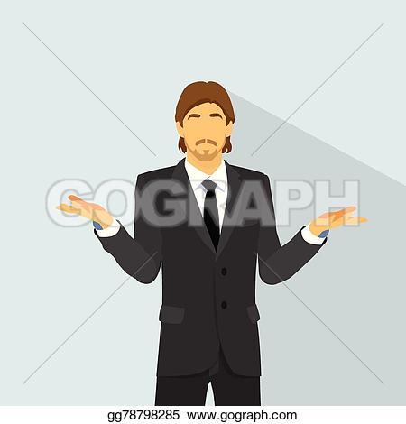 Hand Gesture clipart no hand Ideas Vector Man EPS businessman