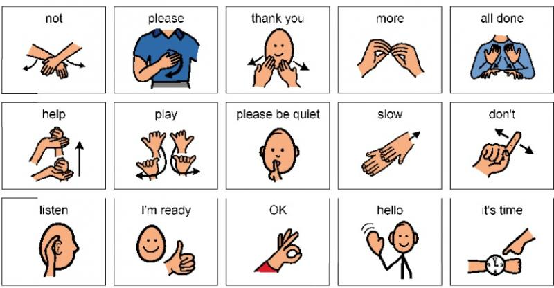 Hand Gesture clipart non verbal #2