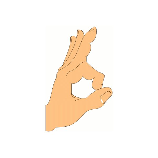 Hand Gesture clipart ok hand OK Different From Gestures
