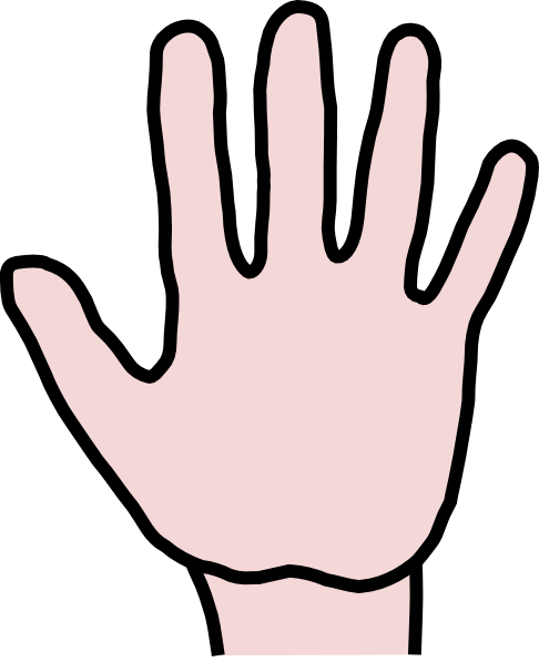 Hand Gesture clipart open hand Clipart Free open%20hand%20clip%20art Images Clip